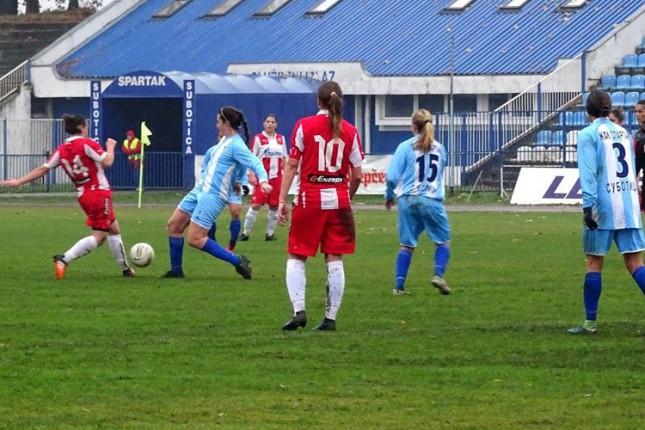 Fudbal: Polufinale Kupa za žene, Spartak dočekuje Crvenu zvezdu od 17,30 časova