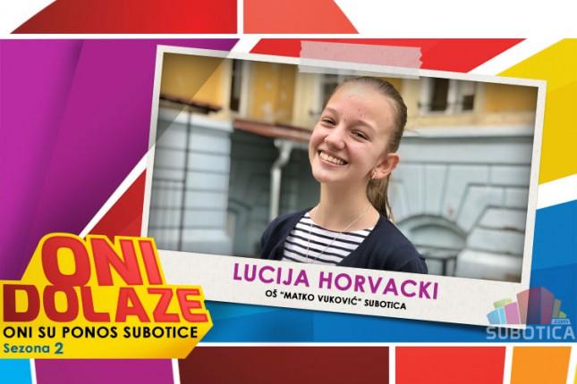 """Oni dolaze: Lucija Horvacki, OŠ """"Matko Vuković"""""""