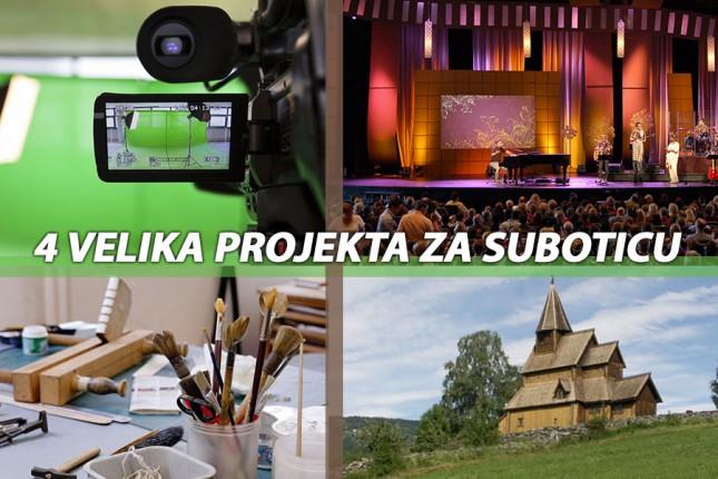 Četiri projekta otvaraju Subotici kulturna vrata Evrope