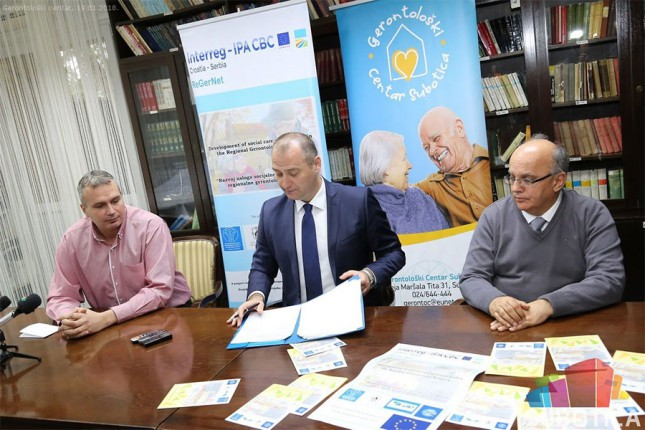 Potpisan sporazum između Gerontološkog centra i Instituta za društvene nauke