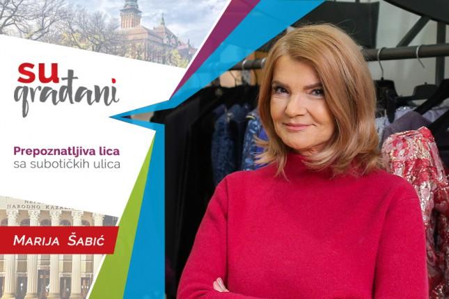 """SUgrađani: Marija Šabić, modna kreatorka - """"Kad zasijaš, ne dozvoli da te potamne!"""""""