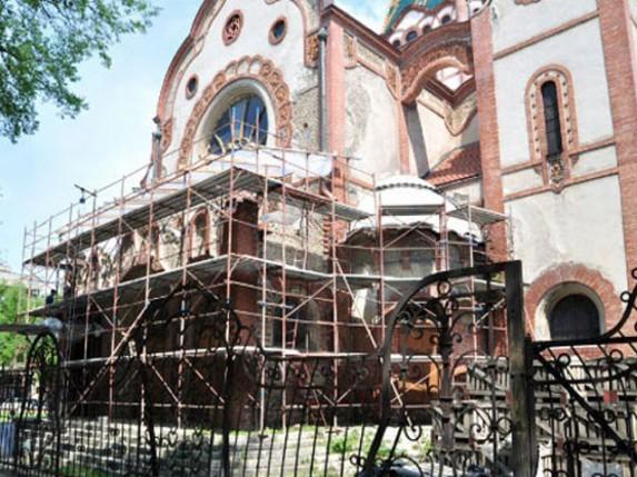 Radovi na Sinagogi nastavljaju se na proleće