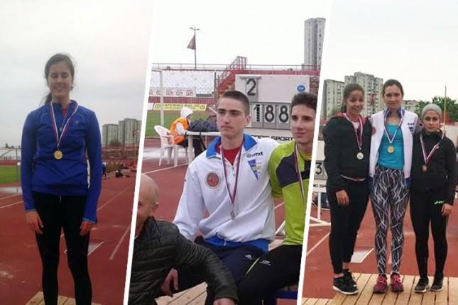 Uspešan nastup atletičara Spartaka na Prvenstvu Vojvodine u Novom Sadu