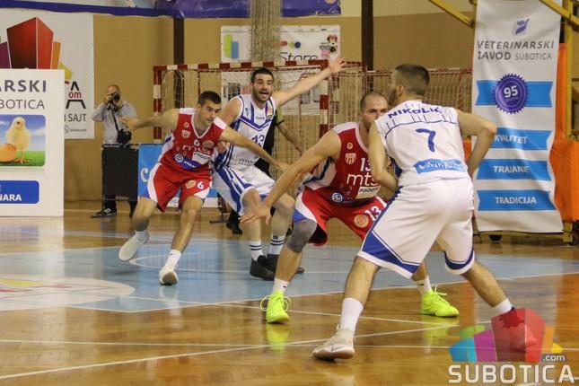 Poraz košarkaša Spartaka za kraj sezone