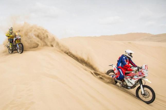 Kraj za Sagmajstera već prvog dana Dakara