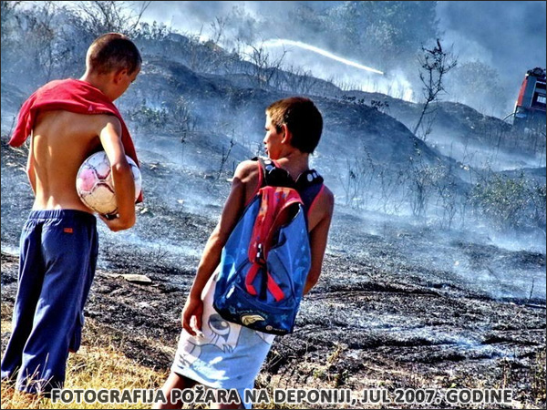 Požar - gradska (regionalna) deponija Subotica