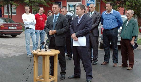 Asfaltiranje ulica u Subotici - Saša Vučinić, Josip Kovač Striko