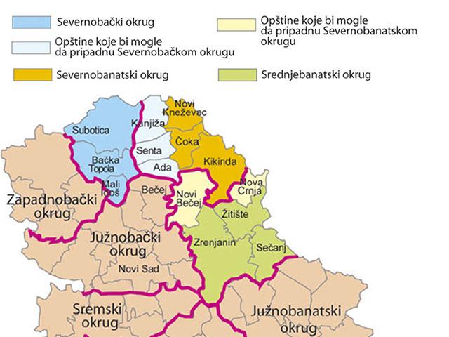Mapa Srbije I Madjarske Superjoden
