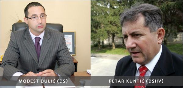 Modest Dulić, Petar Kuntić