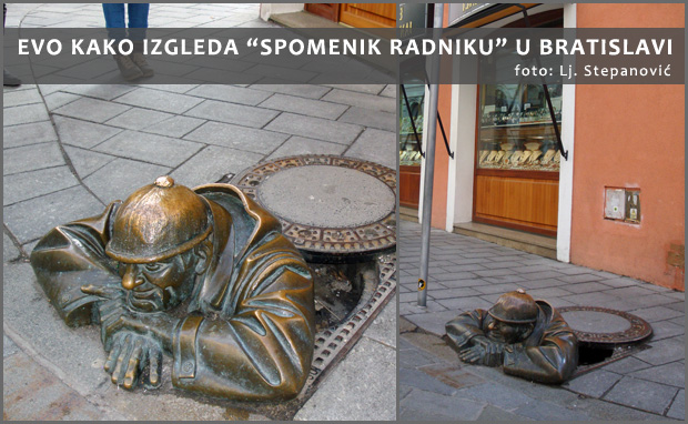 Spomenik radniku - Bratislava