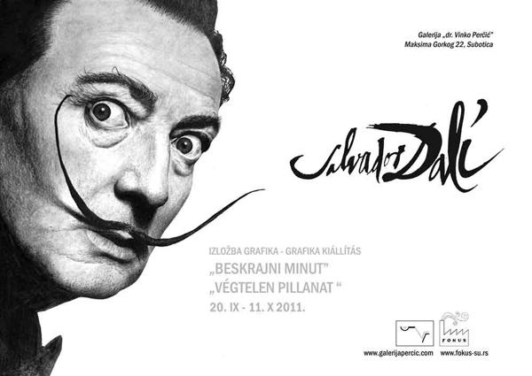 Salvador Dali - izložba u galeriji dr Vinko Perčić: