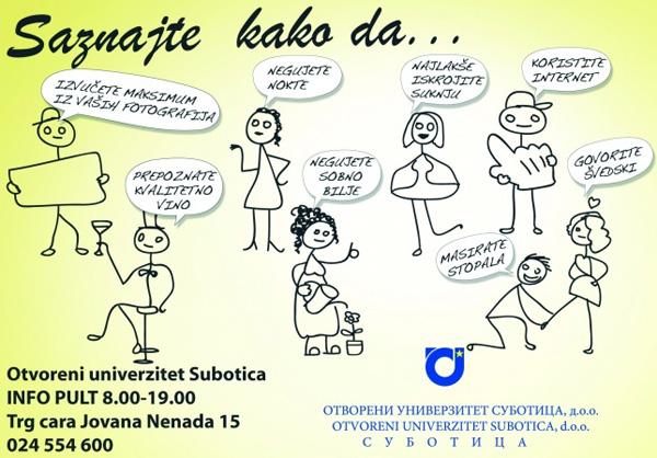 Otvoreni univerzitet Subotica - Otvoreni dan