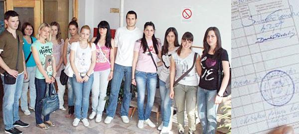 Studenti ekonomskog fakulteta u Subotici