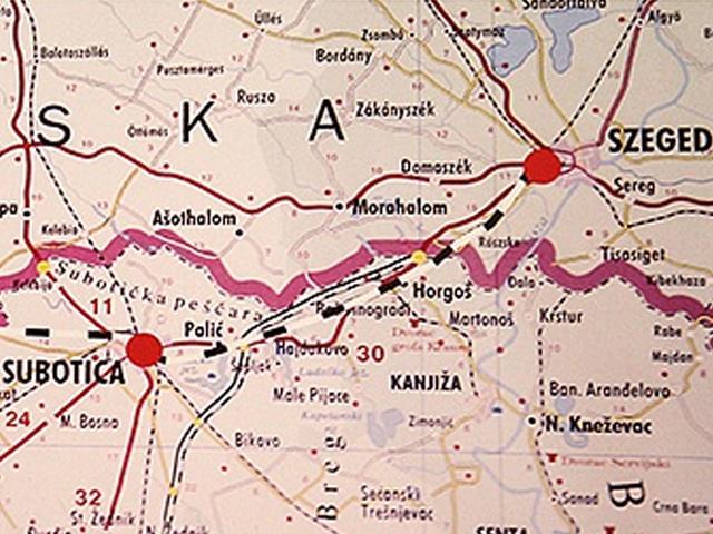 beograd segedin mapa pruga železnica | SUBOTICA.com beograd segedin mapa