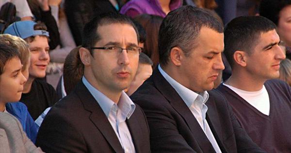 Modest Dulić i Nemanja Simović