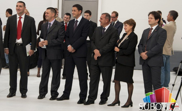 Norma grupa Subootica - fotografije sa otvaranja fabrike