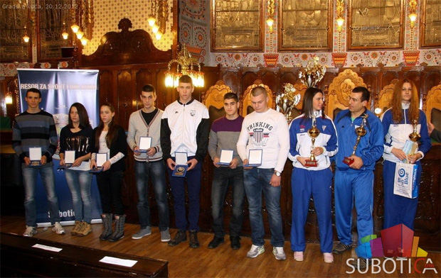 Najbolji sportisti Subotica 2012