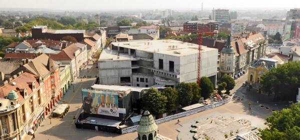 Narodno pozorište Subotica - izgradnja