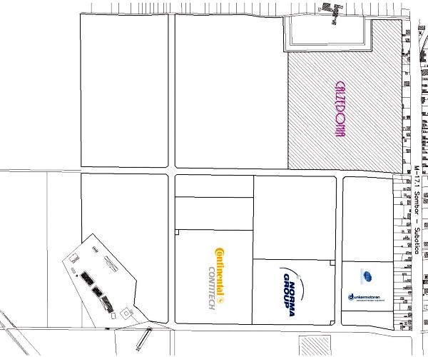 Fabrika Calcedonia Subotica - Dunkermotoren, Norma Group, Continental: Slobodna zona Mali Bajmok