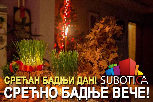 Održana tradicionalna seča badnjaka  (Vesti - 06.01.2016) Subotica