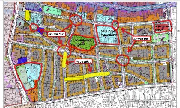 mapa ulica subotice Generalni urbanistički plan   Subotica 2020. | (Vesti   31.07.2011  mapa ulica subotice