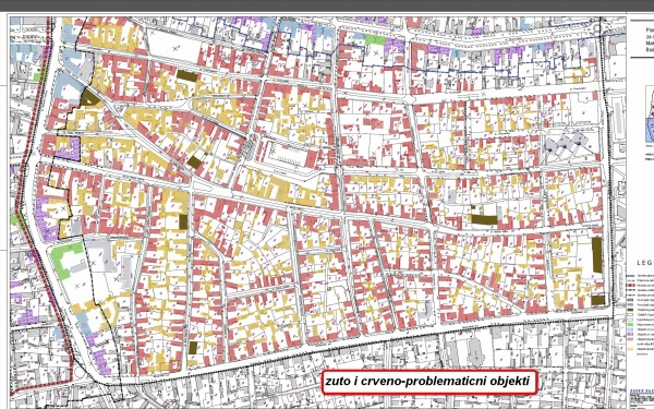 mapa subotice sa ulicama Generalni urbanistički plan   Subotica 2020. | (Vesti   31.07.2011  mapa subotice sa ulicama